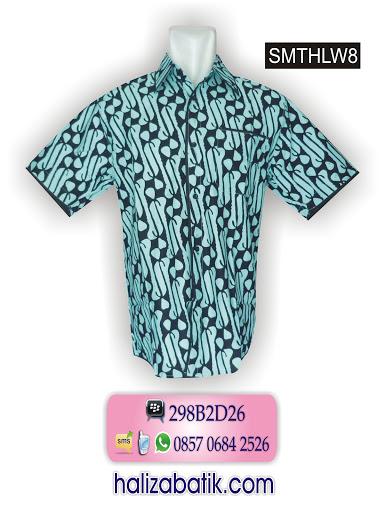 model baju kantor, motif batik, baju online murah