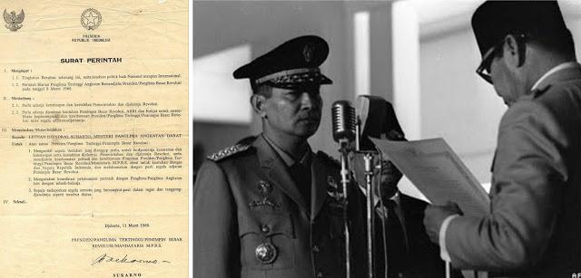 Surat perintah 11 maret 1966 supersemar