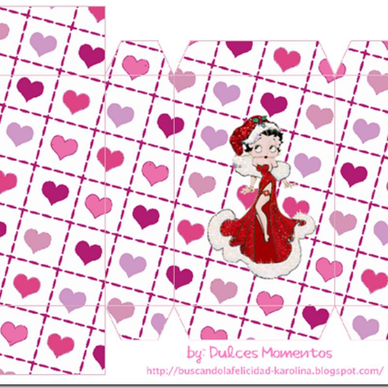 Cajas Betty Boop para imprimir
