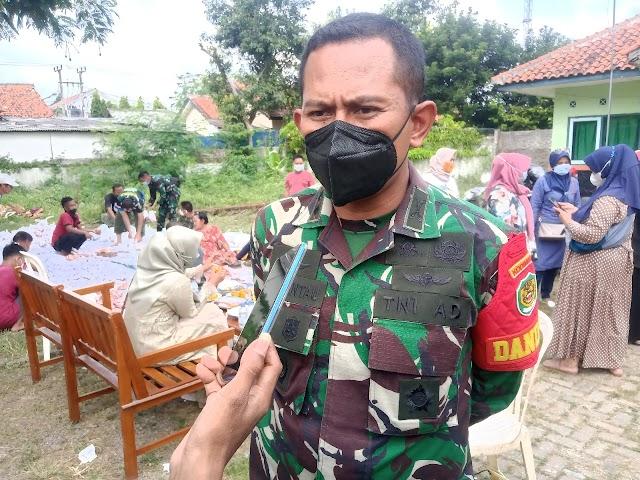 Dalam Situasi Pandemi Kodim 0619/PWK Salurkan Daging Kurban Dengan Sistem Antar Ke Rumah Warga