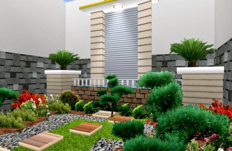 gambar desain taman rumah gallery taman minimalis