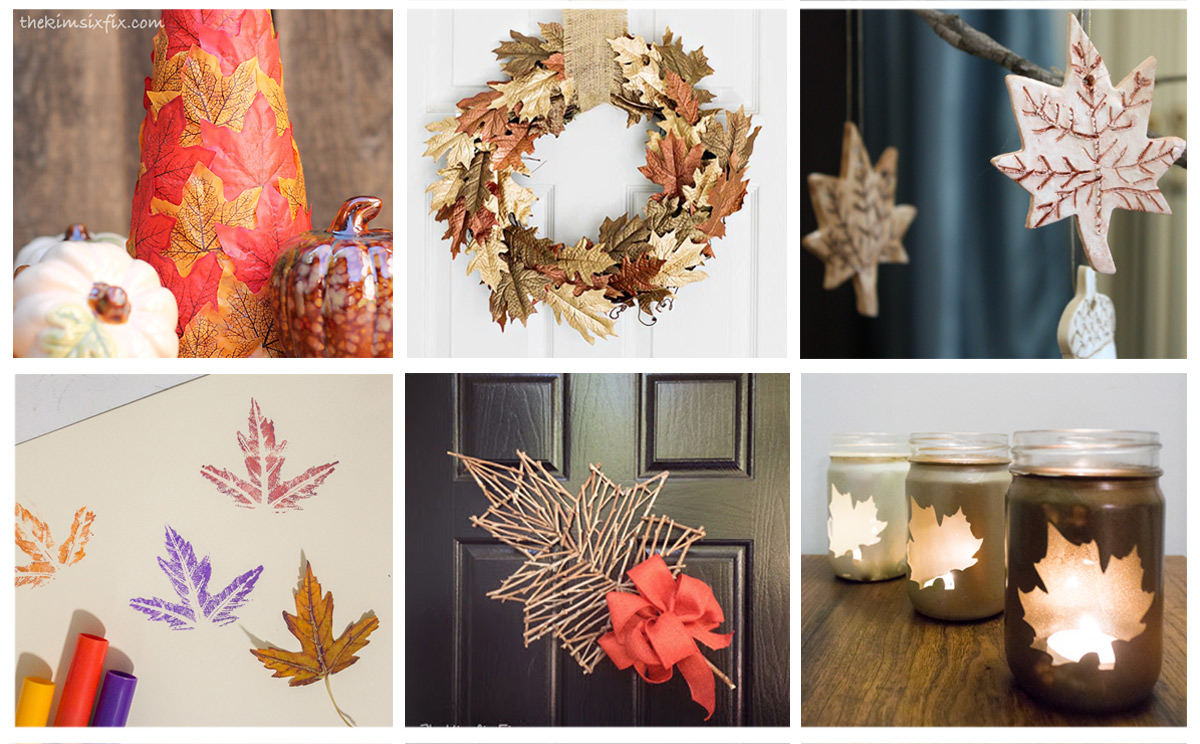 12 Leaf Inspired Decor Projects