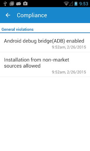 Sophos LG Plugin screenshot 2