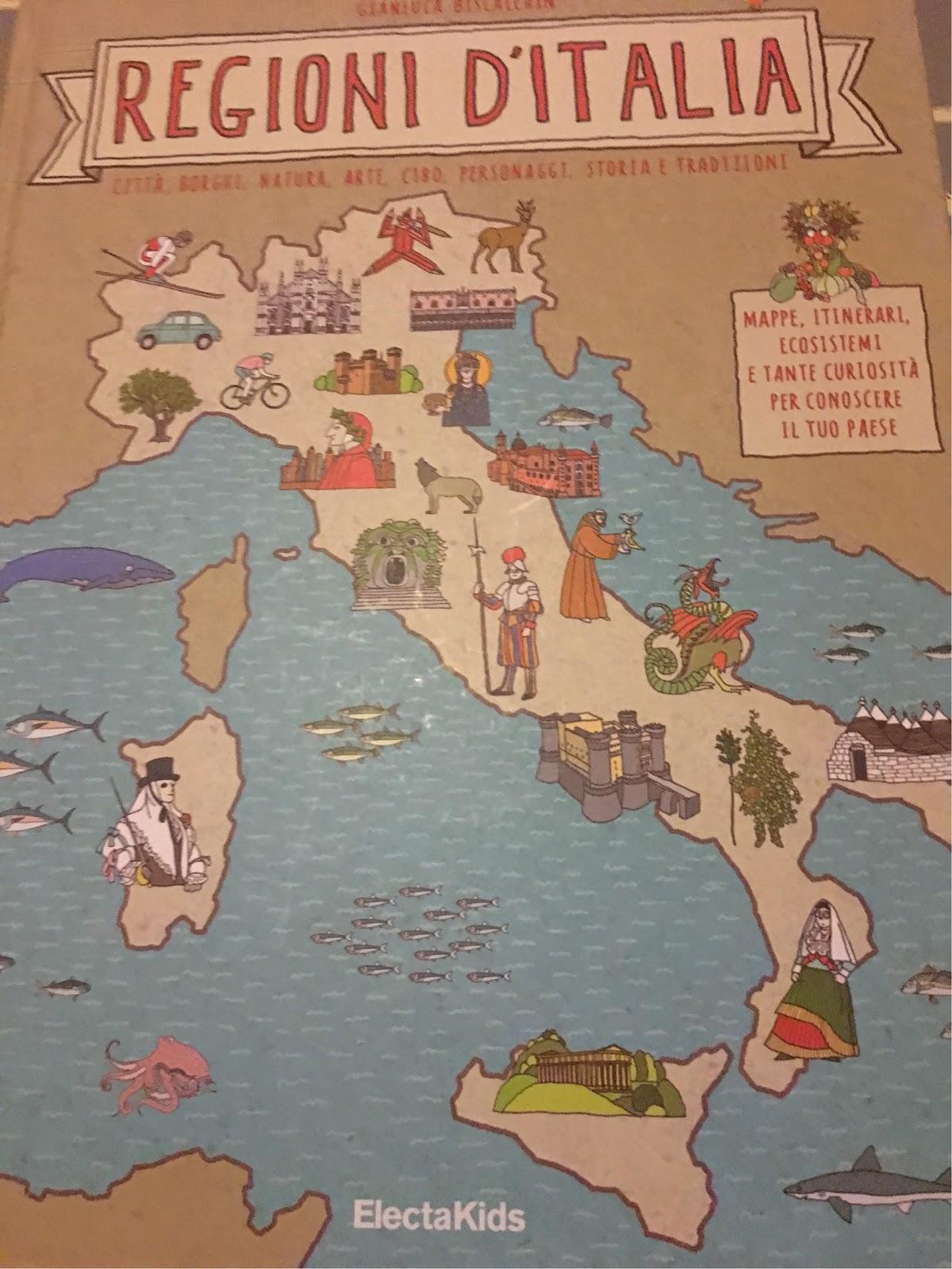 regioni di Italia libro
