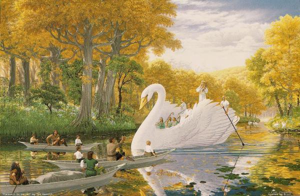 Swan, Magic Animals 1