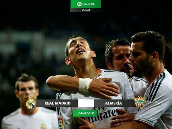 InfoDeportiva - Informacion al instante. REAL MADRID VS ALMERIA