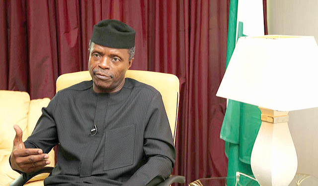 Nigeria is very proud of its Arts & Entertainment talents,says VP Osinbajo