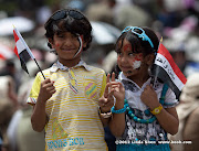 Abudurrahman and Raghad. Friday prayer on 60 Meter Rd, Sana'a, Yemen جمعة الوفاء لأبين  في شارع الستين بصنعاء