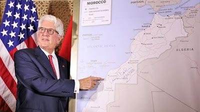 Mencakup Sahara Barat, AS Adopsi Peta Terbaru Wilayah Maroko