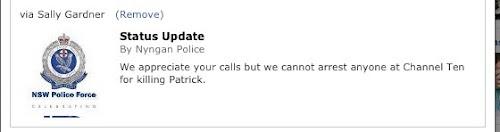 NSW Police update following Patrick Reid'd death