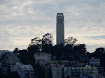 Coit Tower zoomed in