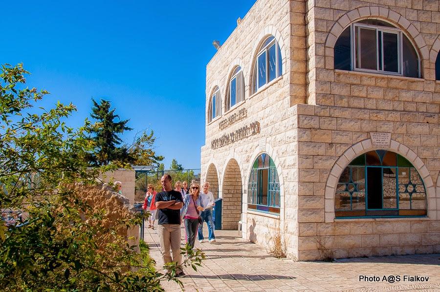 Могила Раби Иегуда Бар Илай. Экскурсия по Верхней Галилее. Гид в Израиле Светлана Фиалкова.