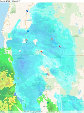 Radar for our trip