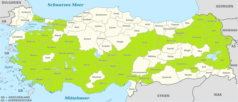 Добраться до Греции или 9783 километра за 29 дней . Часть 1. По Северу Турции на своей машине