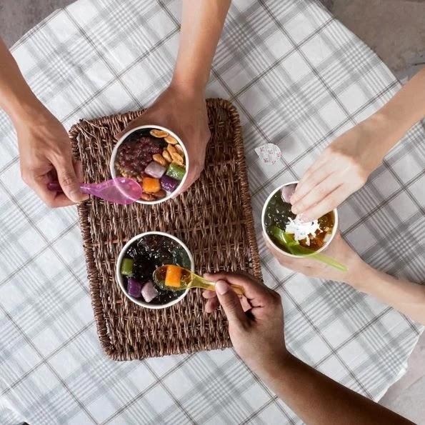 Nine Fresh create your own dessert bowls
