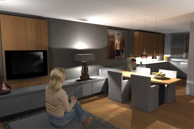 3d Woonkamer Inrichten ~ Creatieve Ideeën Voor Home Design