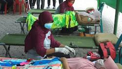 Aksi Donor Darah Pada Hut Ke 47 PT Bank Aceh Syariah Bireuen, Kumpulkan 201 Kantong Darah,