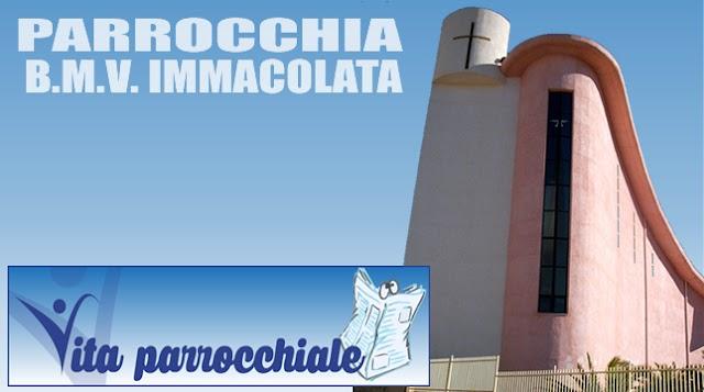 PARROCCHIA B.M.V. IMMACOLATA - Lettera Pastorale Pasqua 2018 - Avvisi Parrocchiali dal 02 al 08 Aprile 2018