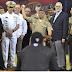 Ministro de Defensa Paulino Sem lanza primera bola en estadio Cibao previo partido Licey vs Aguilas