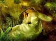 Green Sleeping Fairy