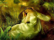 Green Sleeping Fairy