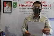 Update Kasus Terkonfirmasi Covid-19 Daerah Kabupaten Indrgairi Hulu Provinsi Riau, 23 Juli 2021