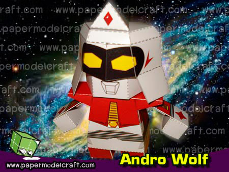 Ultraman Andromeda Andro Wolf Papercraft