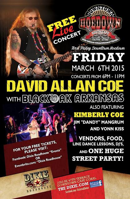 DRH David Allan Coe 11x17 FEB2015