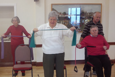 Exercise Class at the Village Hall November 2013