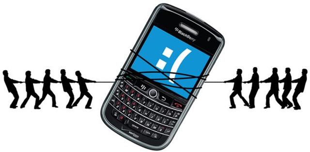 BlackBerry как производитель смартфонов находится в очень нелегком положении