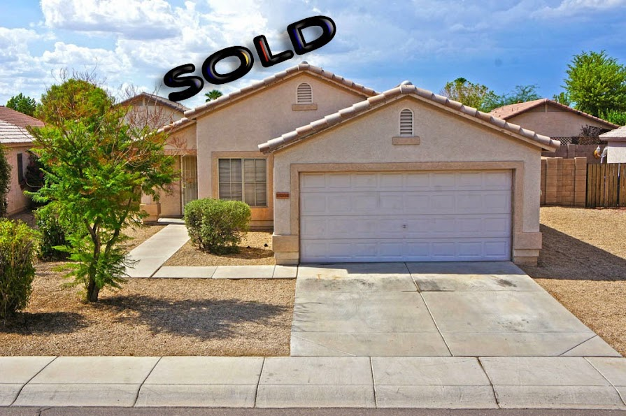 Front picture: Selling my home in Surprise AZ