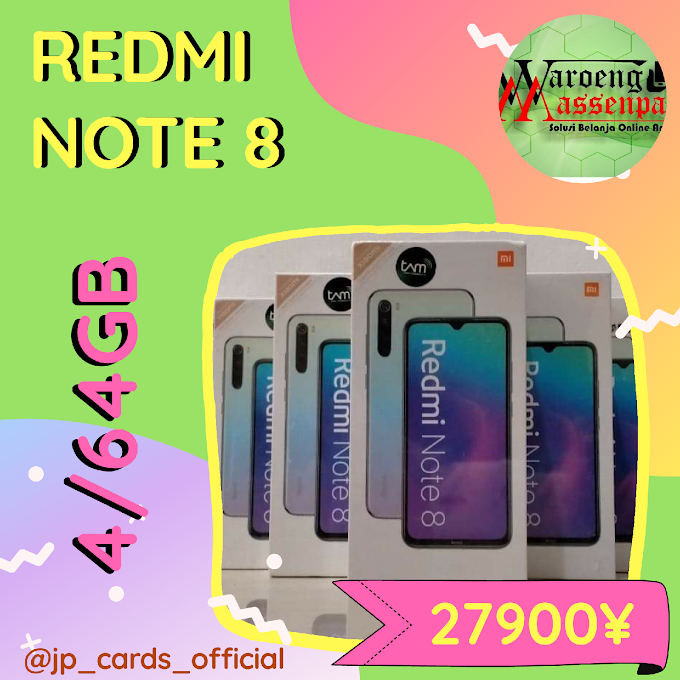 REDMI NOTE 8  4/64GB