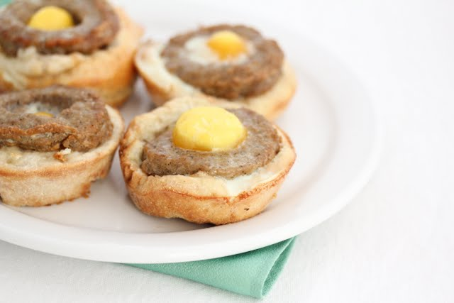 Sausage McMuffin Cups