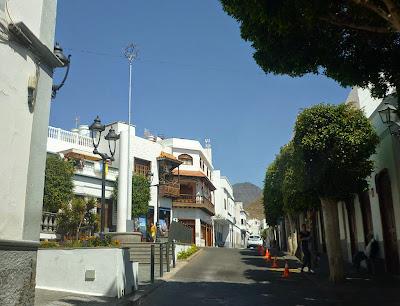 Straßen in Agaete