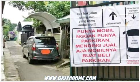 mobil tanpa garasi