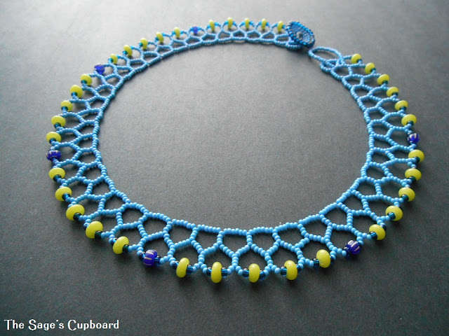 Blue Lime Mini Collar