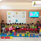 Square Day Celebration by Playgroup Section at Witty World, Bangur Nagar