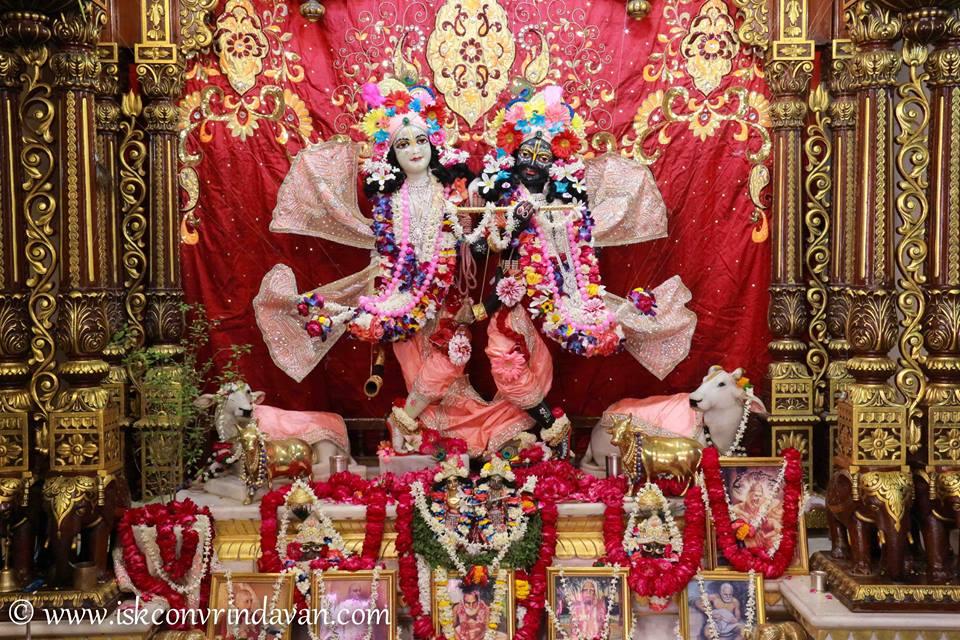 ISKCON Vrindavan Shringar Deity Darshan 2 April  2016  (11)
