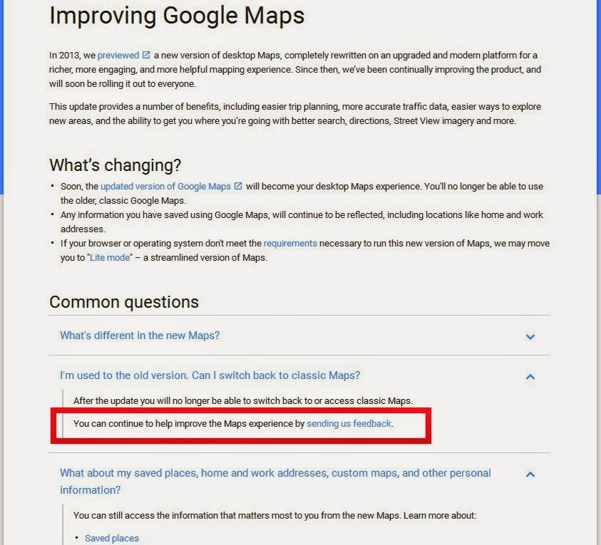 Announcing the full roll-out of the updated Google Maps for desktop