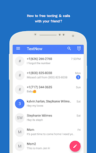 Texting TextNow Call Guide - náhled