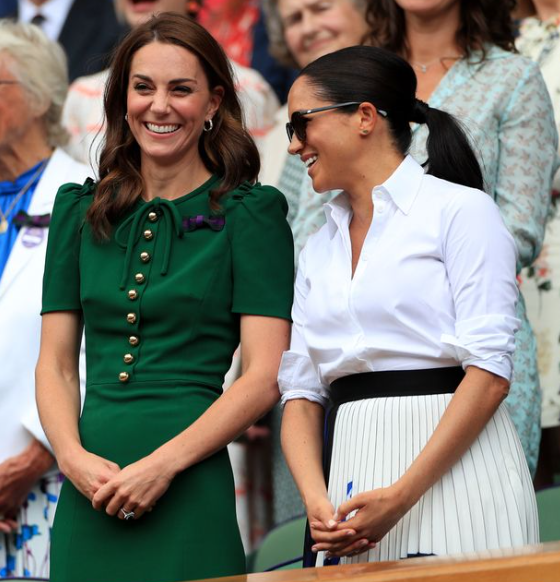 Meghan Markle and Kate Middleton 'finally exchange texts after royal feud'