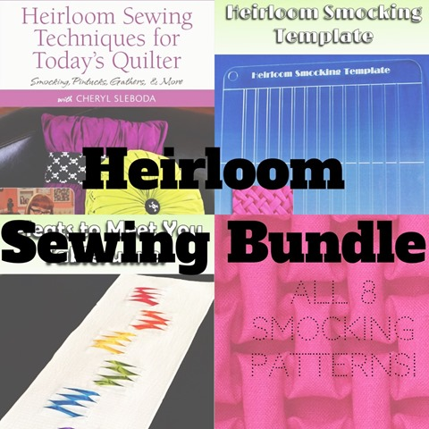 heirloom sewing bundle