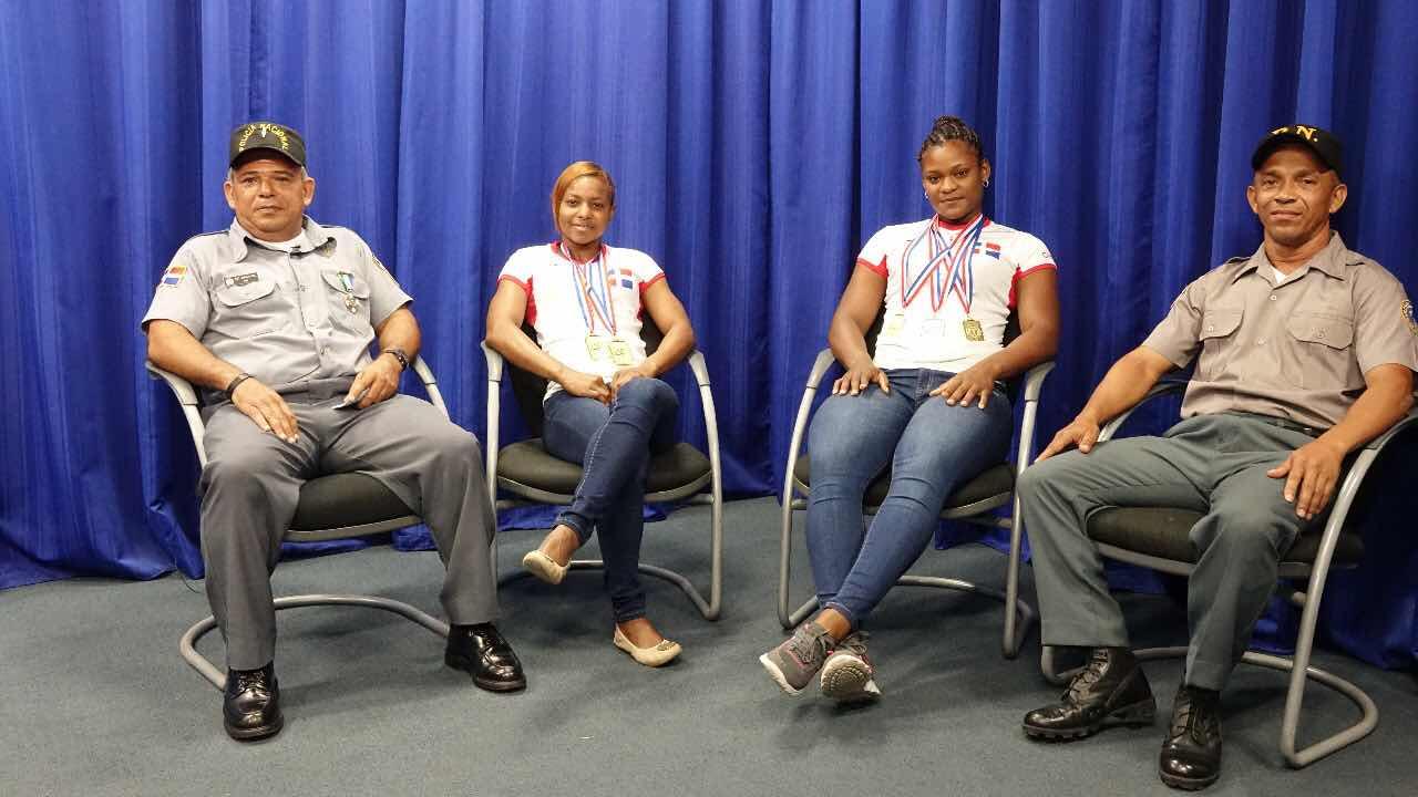 Dentro de la Policía Nacional hay talento: dos cabos campeonas continentales de Pesas