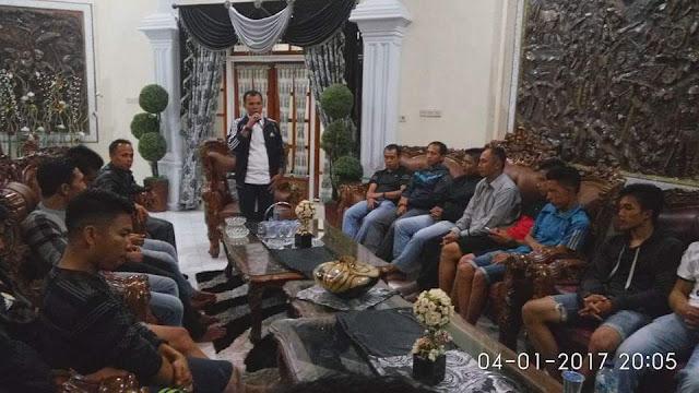 Ketua PS.Kerinci Lepas Kontingen Gubernur Cup