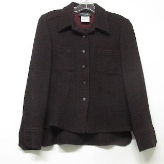 Chanel Wool Purple Jacket