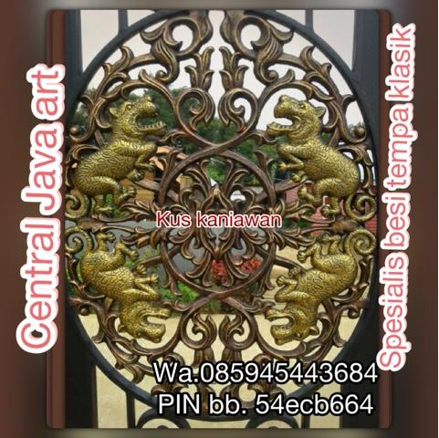 jual ornamen besi tempa dan mengerjakan besi tempa klasik,wa.085945443684 pinbb .54ecb664. jakarta