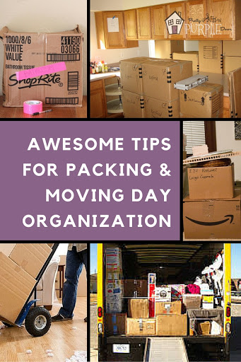 Awesome Tips for Packing & Moving Day Organization