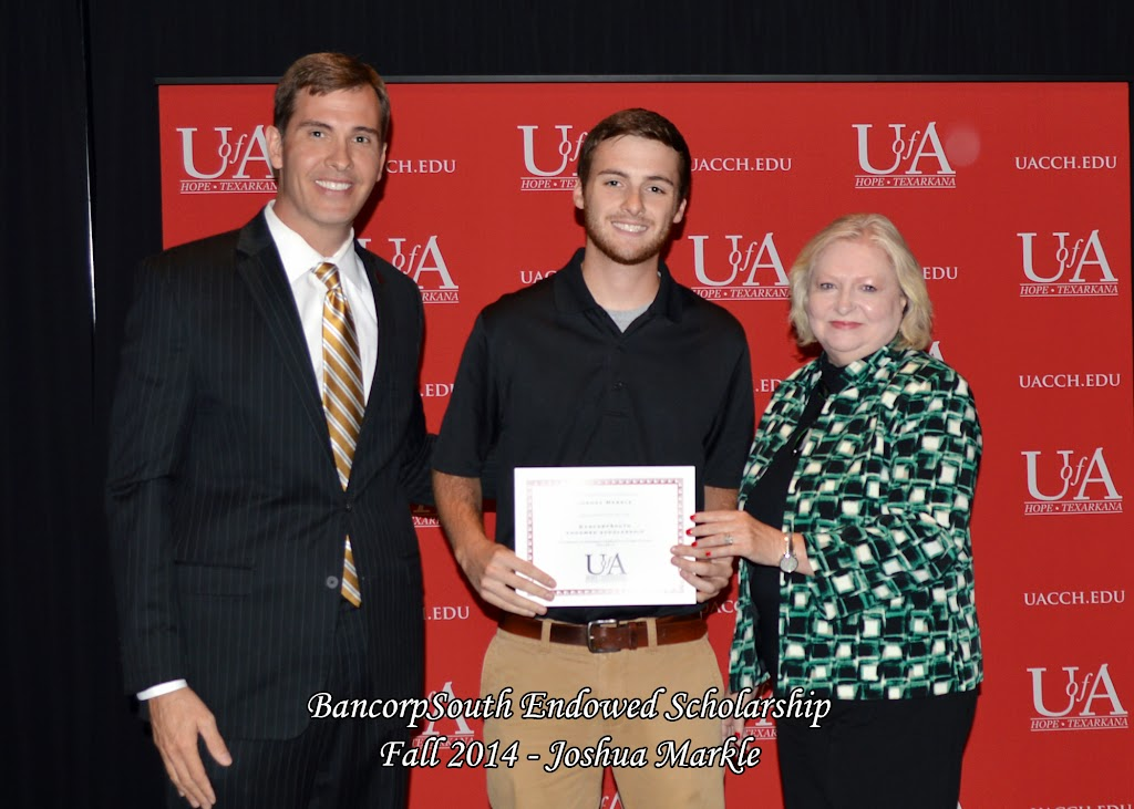 Scholarship Awards Ceremony Fall 2014 - Joshua%2BMarkle.jpg
