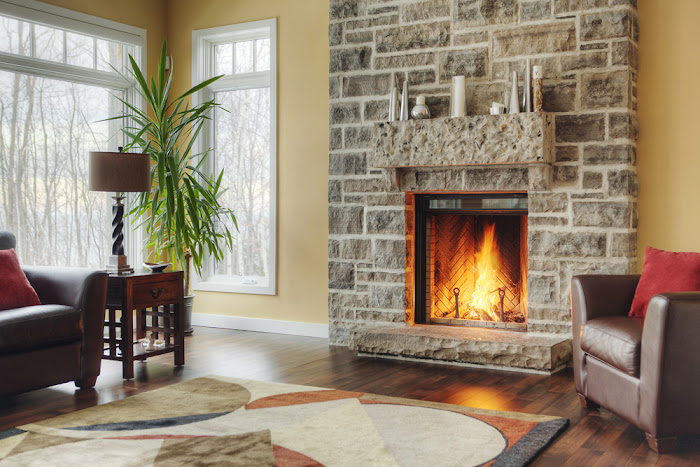 5 7 Vs 610 Limestone Stone : Limestone fireplaces