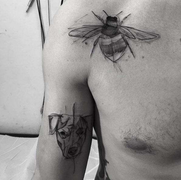 este_esboçou_abelha